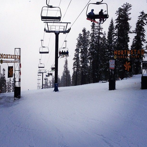 Northstar Terrain Parks all day, miss this tranquil place ...