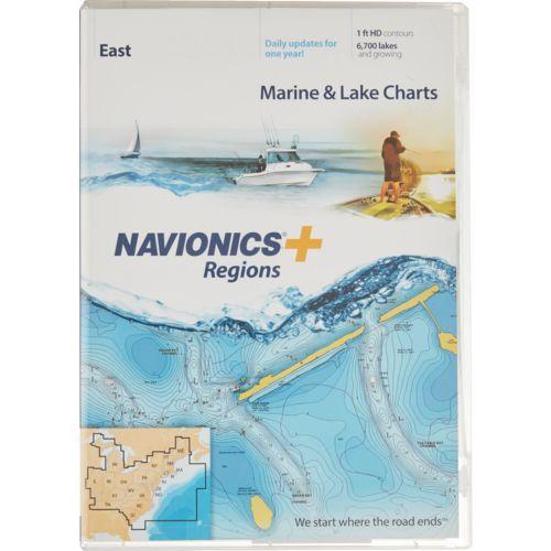 Navionics Regions East Region Marine and Lake Charts and