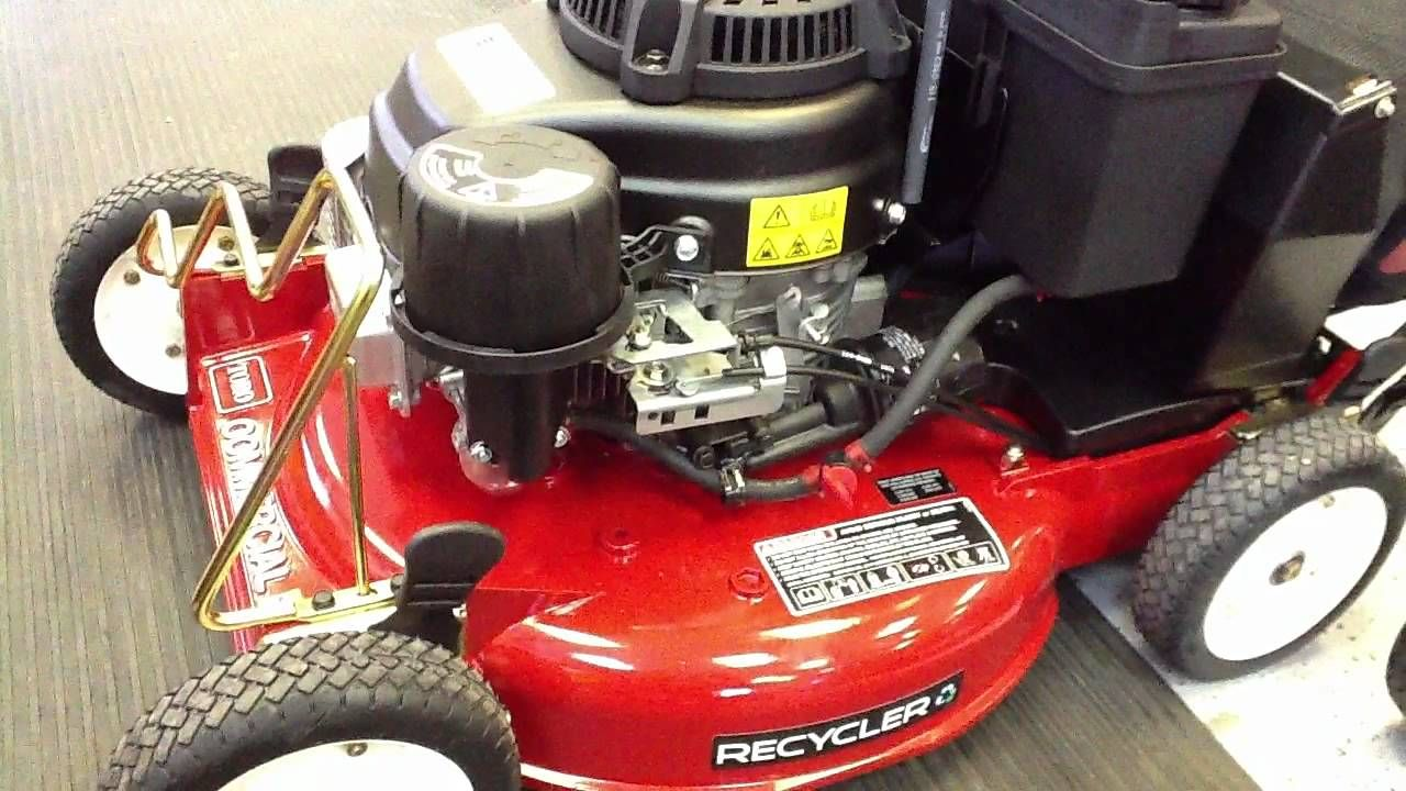 Toro Commercial Proline 21 53 Cm Recycler Rear Bagger Zone Start 221 Lawn Mower Riding Lawnmower Riding