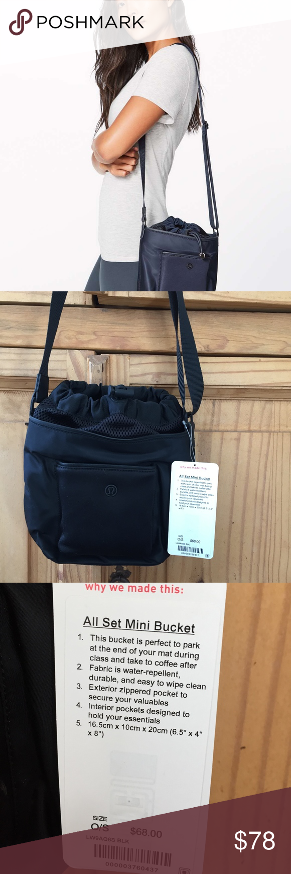9c8ac97b NW Tags lululemon All Set Mini Bucket Purse Brand New with tags! Fun and  different purse- great size for every day. lululemon athletica Bags