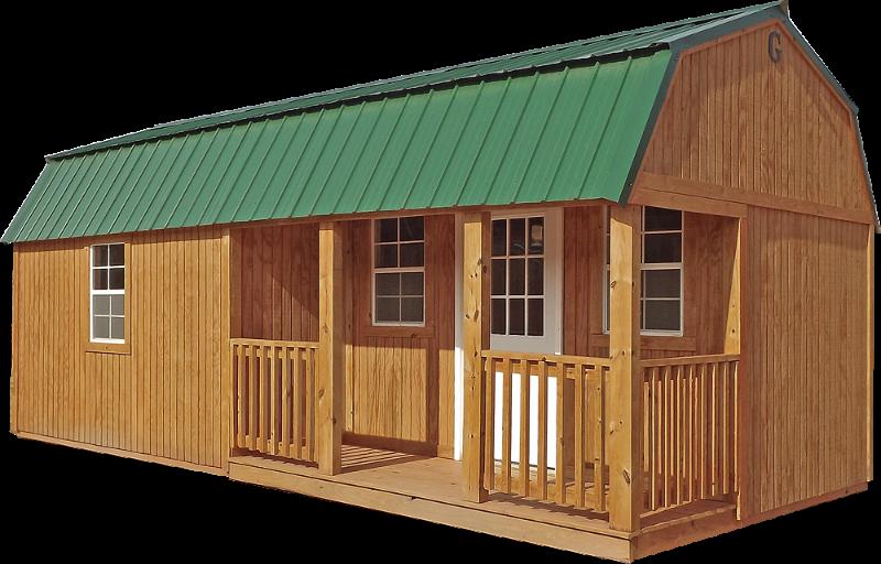Graceland Portable Buildings Dealer Hammond Louisiana Lofted Barn Cabin Portable Buildings Cabin Floor Plans
