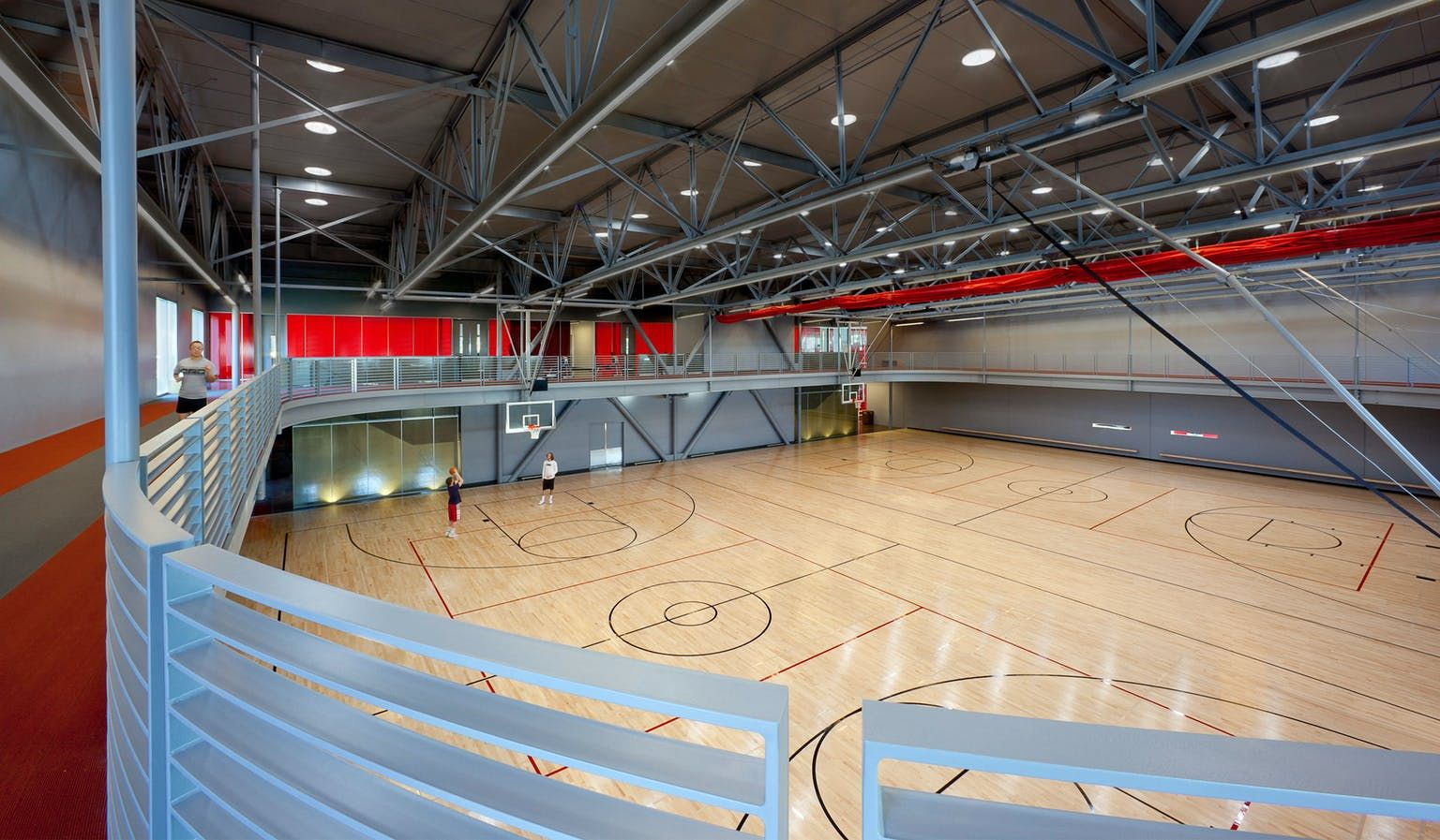 Pin By Dellaramy Vin On Green Building Certification Indoor Basketball Court Center Basketball Basketball