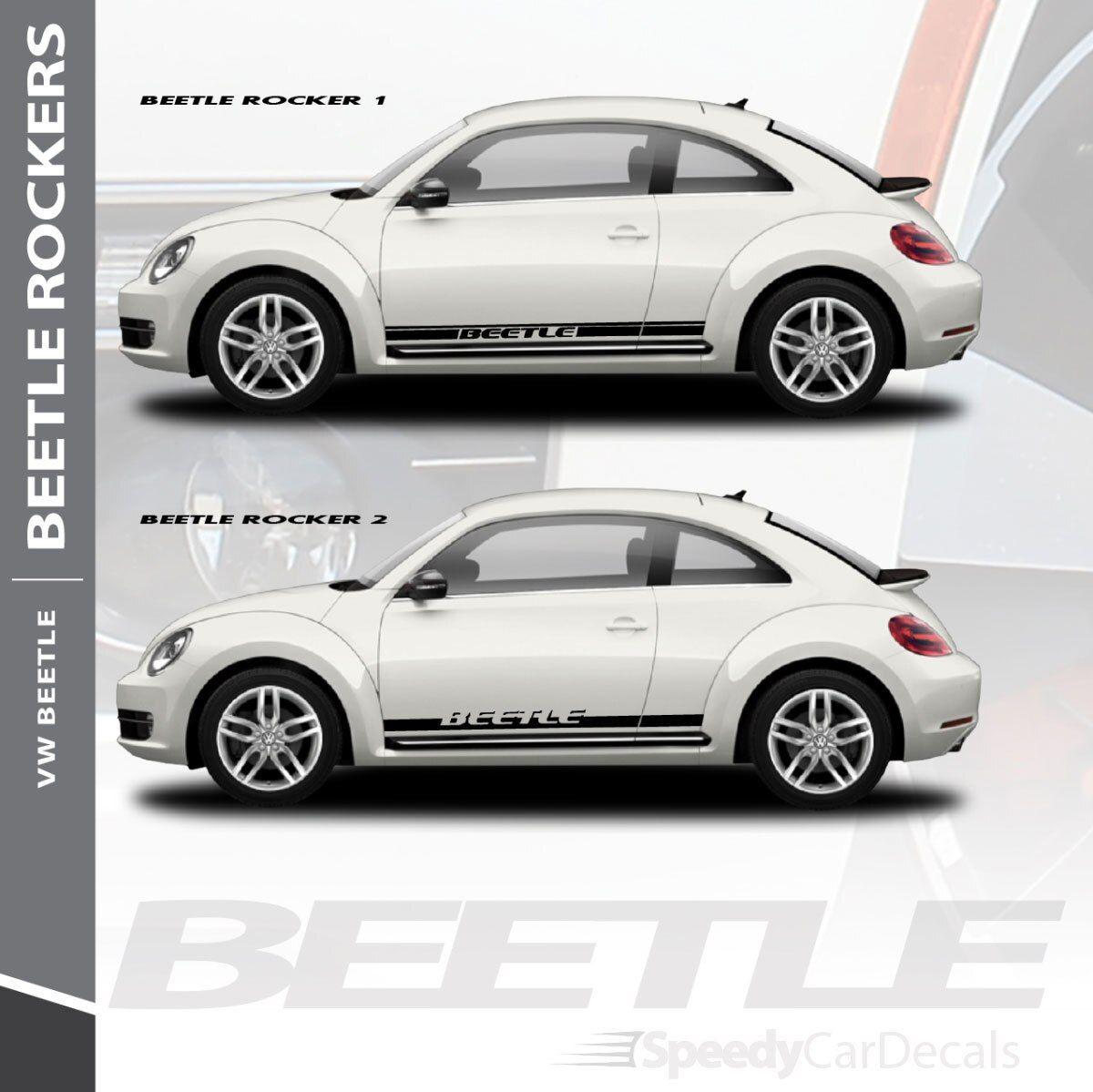 Vw Beetle Decals Rocker 1 2 3m 2012 2014 2015 2016 2017 2018 Premium Install Automotive Carvinylgraphics Vinyl Graphics Volkswagen Beetle Vinyl For Cars [ 1199 x 1200 Pixel ]