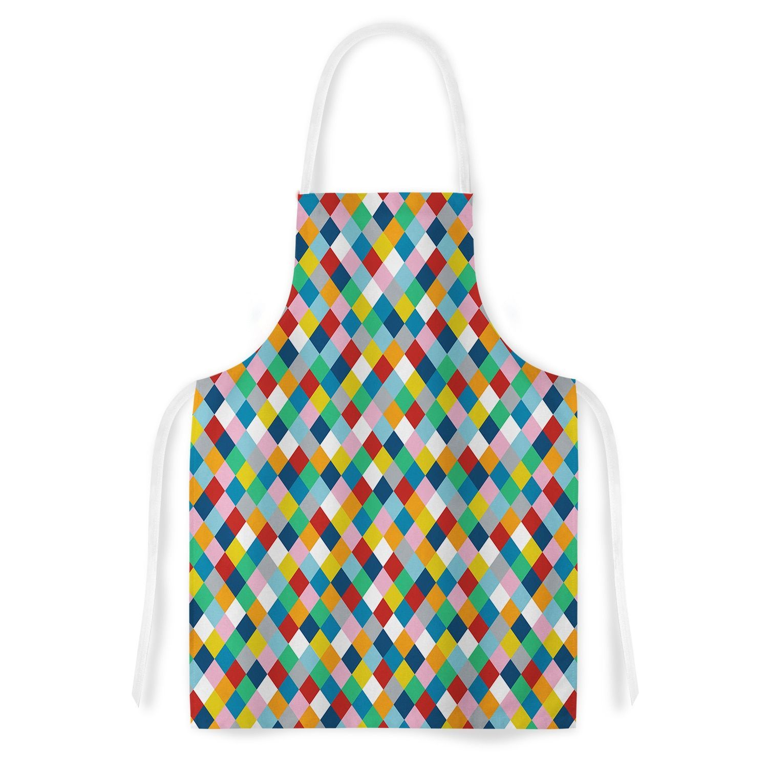 Kess InHouse Project M 'Harlequin' Artistic Apron