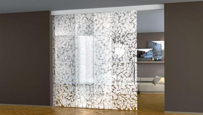 porta-scorrevole-vetro-doppia-trascinamento | Idee per la casa ...