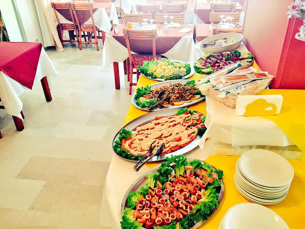 Gran buffet cominciamo con l'estate e voi ???