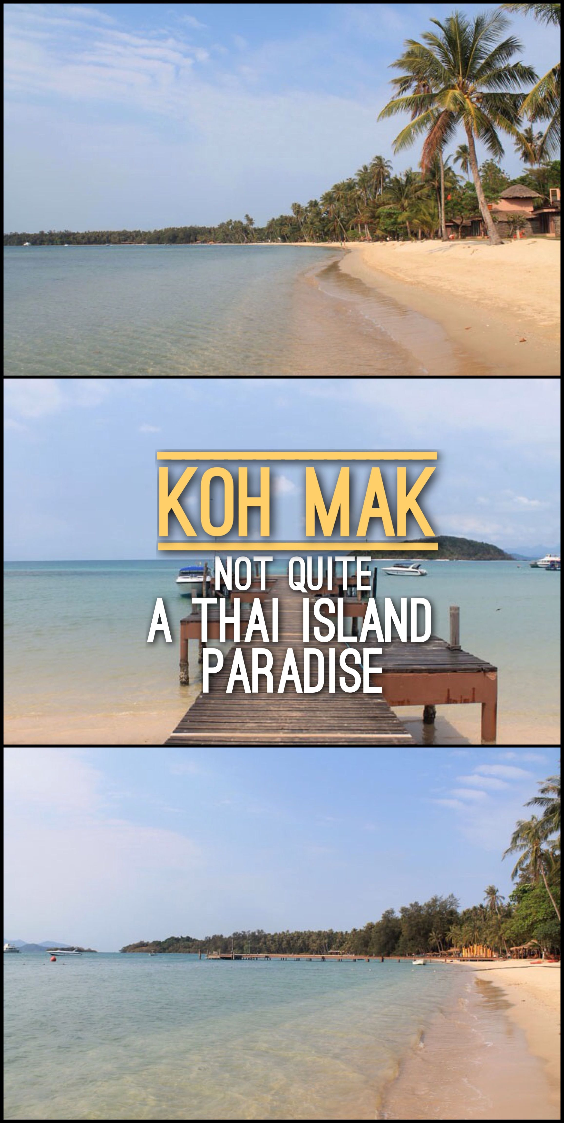 Looking for a Thai Island paradise? Koh Mak might not quite be it, but there is another island nearby that more than makes up for it!