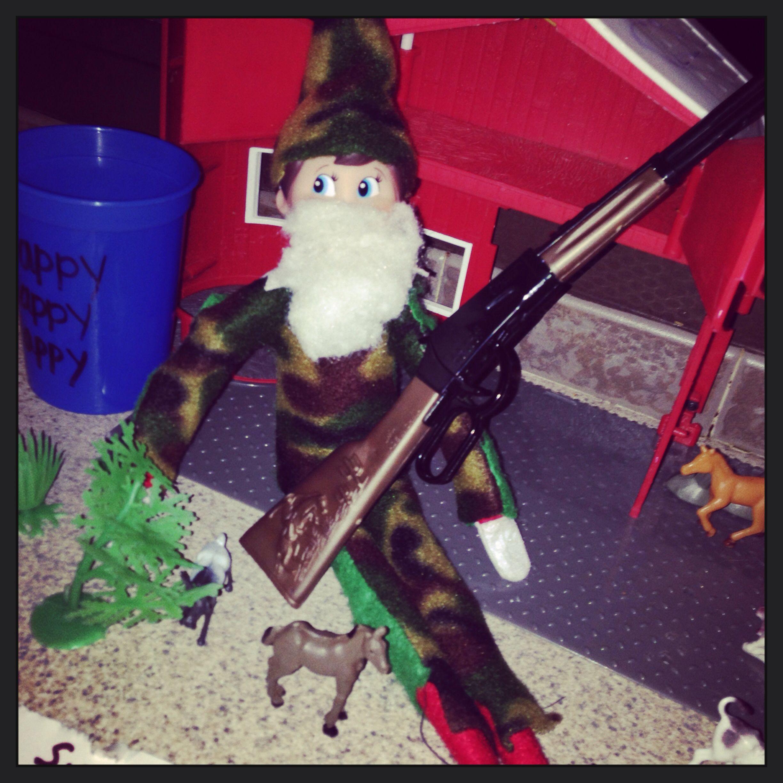 Elf On The Shelf Duck Dynasty Edition Si Robertson