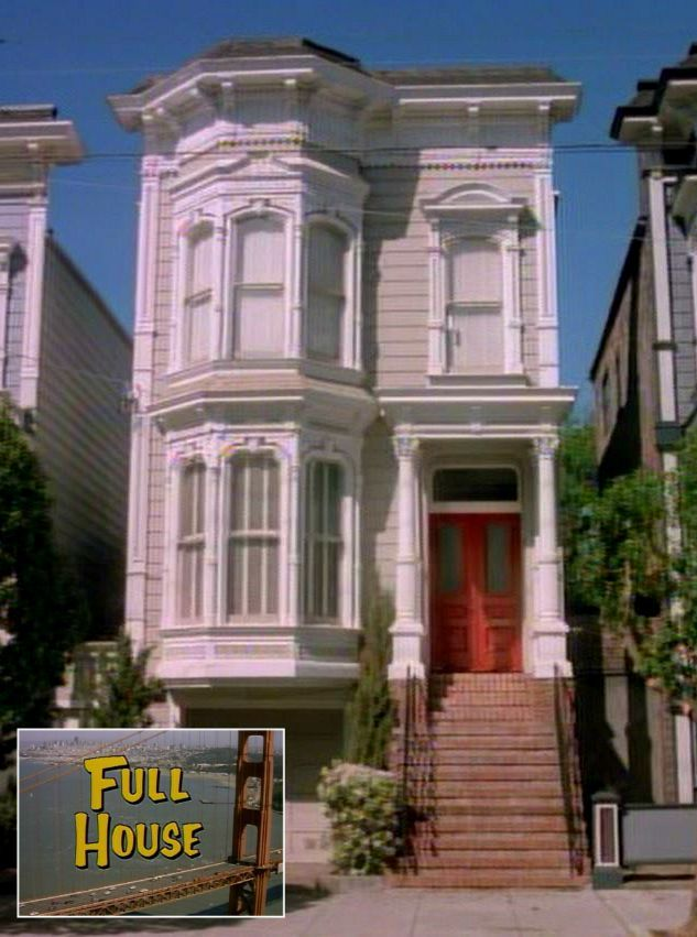 "The ""Full House"" Victorian in San Francisco Today"