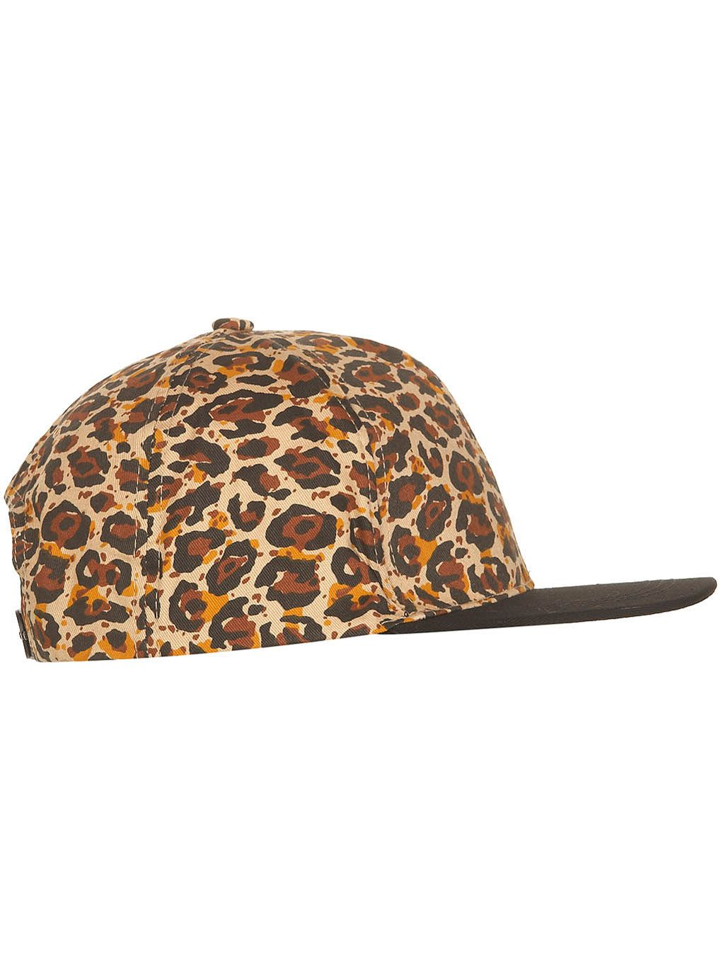 Black Animal Print Snapback - Hats - Accessories - TOPMAN