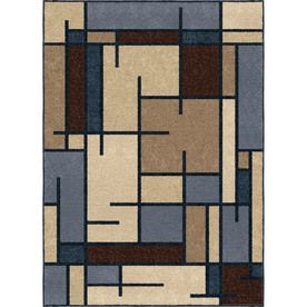 Allen Roth Allen Roth Addington Liberty Blue Area Rug Common 4