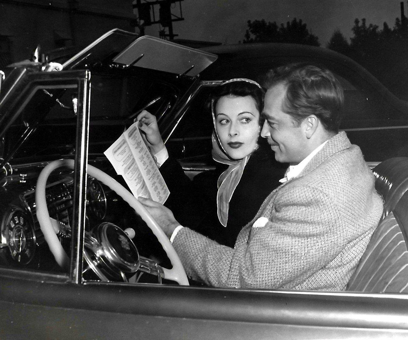 Hedy Lamarr And John Howard (1941) | Hedy lamarr, Hedy lamar ...