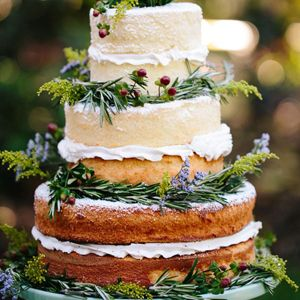 Finding Your Perfect Wedding Cake Naked Floral Handpainted Chocolate Cheese