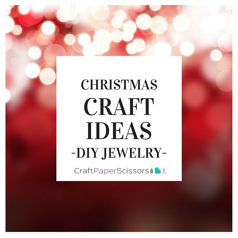 Do you want to sparkle and shine this holiday season? Accessorize with these DIY jewelry ideas and you'll be outshining all the rest!