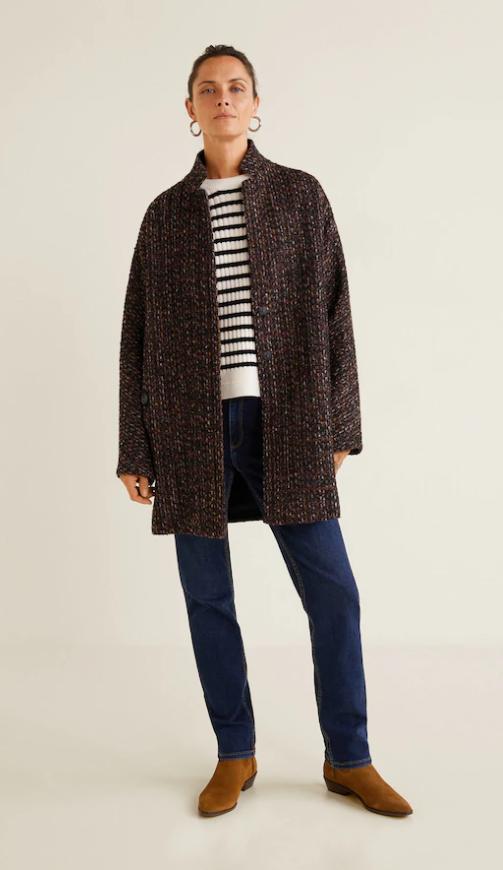comprare popolare aed38 284ca Cappotto melangiato lana - Cappotti da Donna