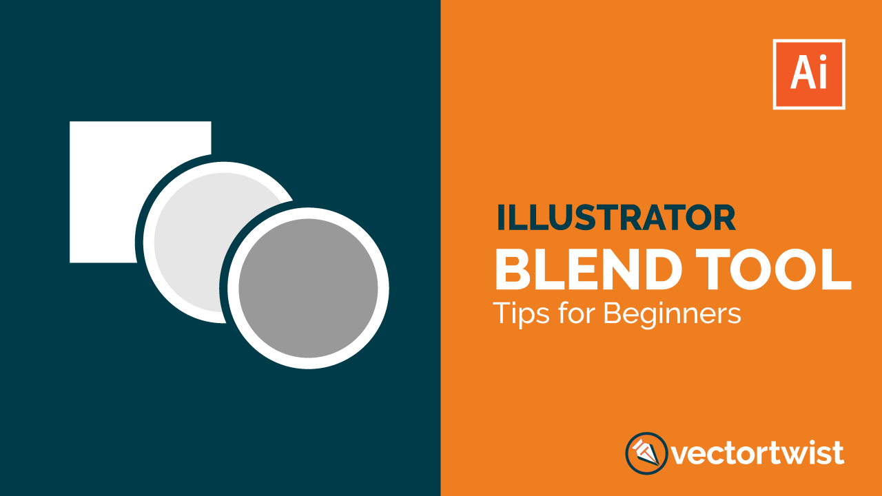 How To Use The Blend Tool In Adobe Illustrator Cc Blend Tool Adobe Illustrator Graphic Design Graphic Design Marketing