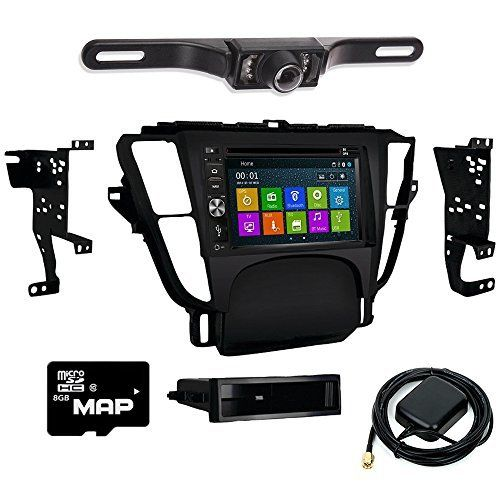 DVD GPS Navigation Bluetooth Radio And Dash Kit For Acura