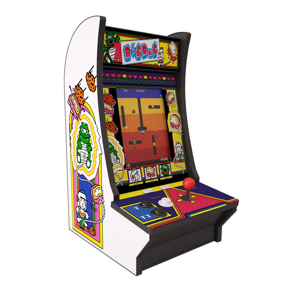 Arcade1up Dig Dug Countercade Arcade Cool Things To Buy Arcade