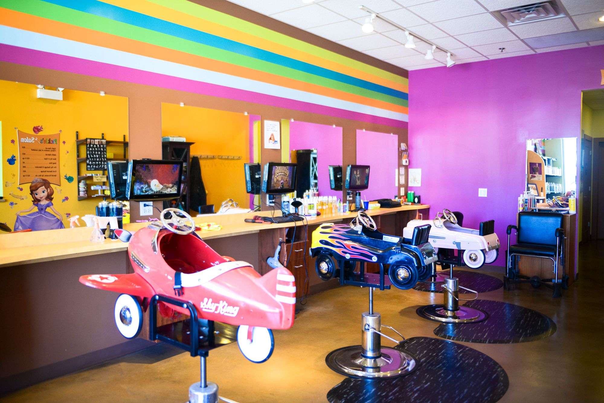 Premier Kids Salon In Chicago Hair In 2018 Pinterest Kids