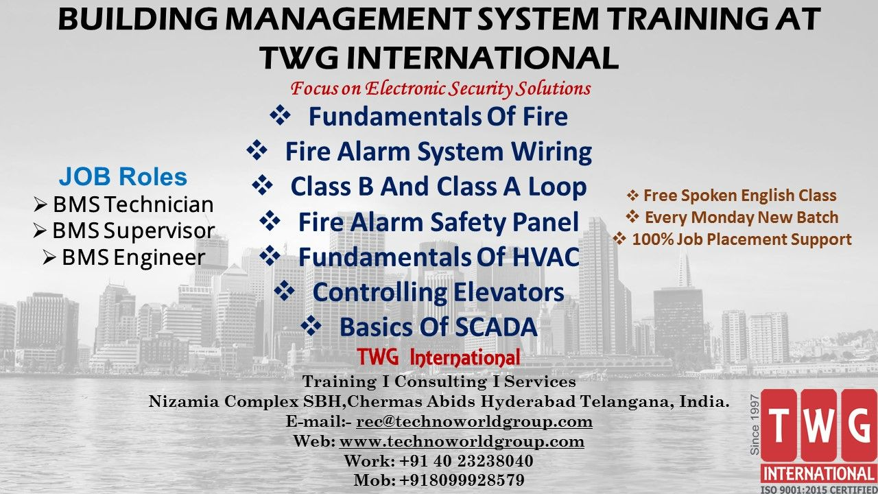Building Management System Training At Twginternational