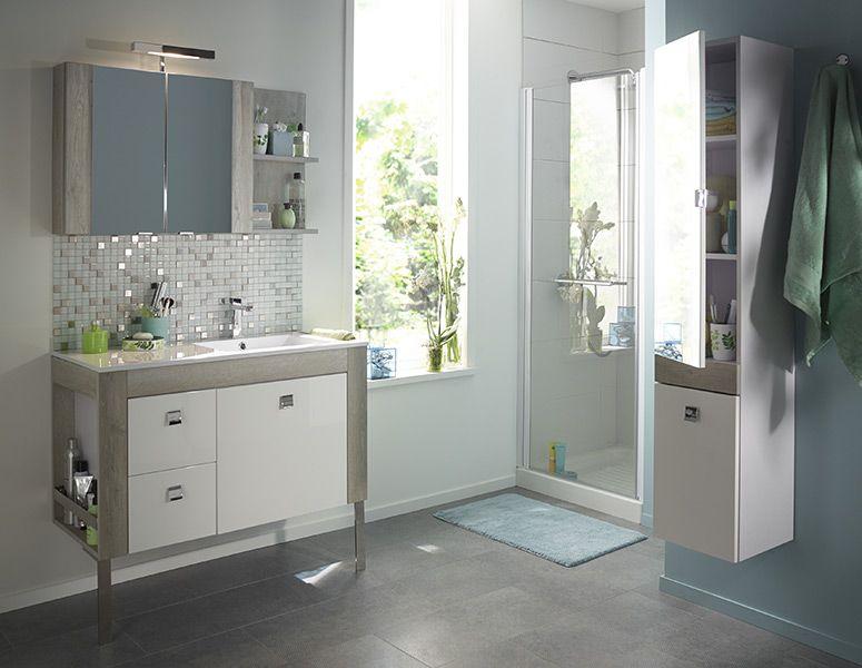 Inspiration Salle de bains ambiance contemporaine Amazon | Vanité ...