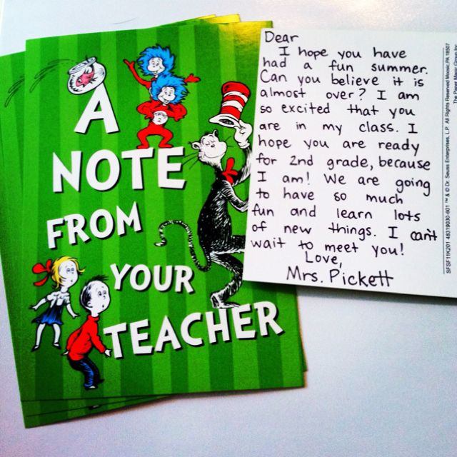 Back-to-School Postcards To Welcome Students To My