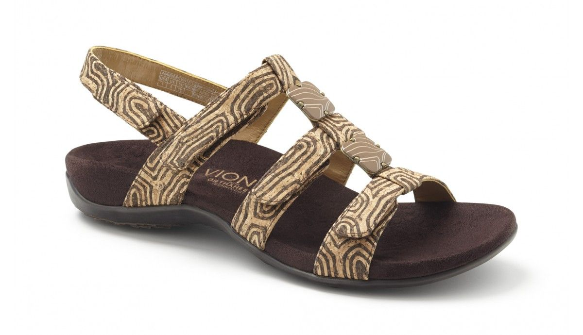 7a04cc9abd9 Vionic Amber Adjustable Womens Sandal with Orthaheel Technology ...