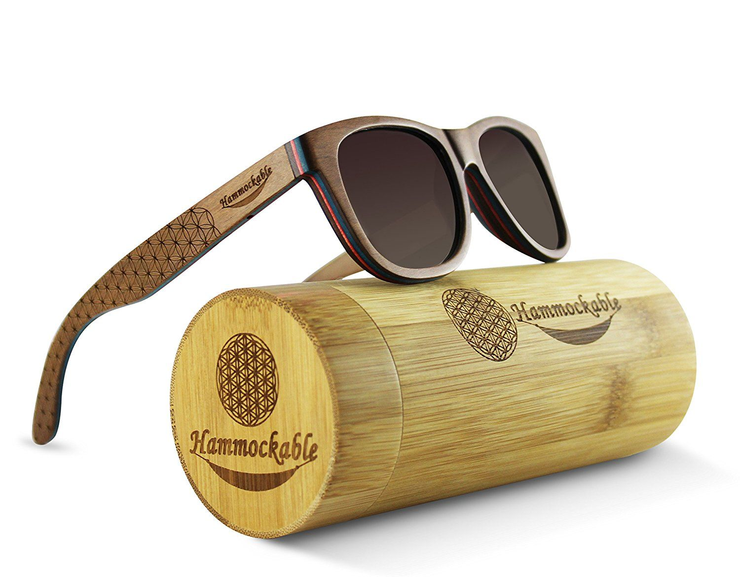 a231bf7a37 Maple Wood Sunglasses - 100% Polarized Lenses in a Handmade Wooden Wayfarer  that Floats! woodensunglassesmens  woodensunglassesholder   woodensunglasseswomen