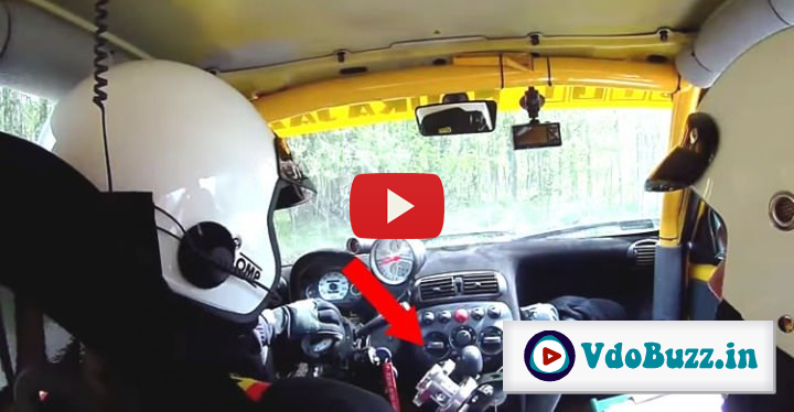 Rally Racers Show You That Steering Wheels Are Really OPTIONAL Equipment