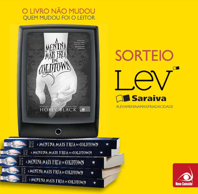 Tenha agora a nossa biblioteca em suas mãos com a Promoção Lev Novo Conceito - Blog - GRUPO EDITORIAL NOVO CONCEITO