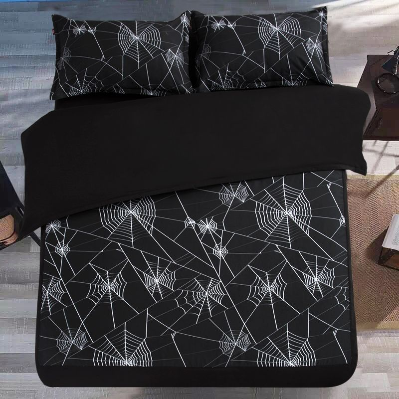Bedding Set Geometric, What Does It Mean When Says Bedding Set Without Filler