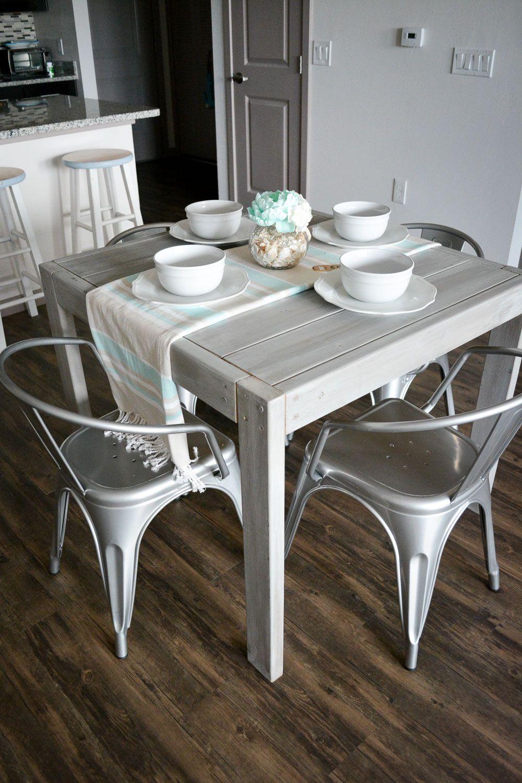 diy farmhouse table for under 40 diy farmhouse table farmhouse style dining table diy on farmhouse kitchen table diy id=76142