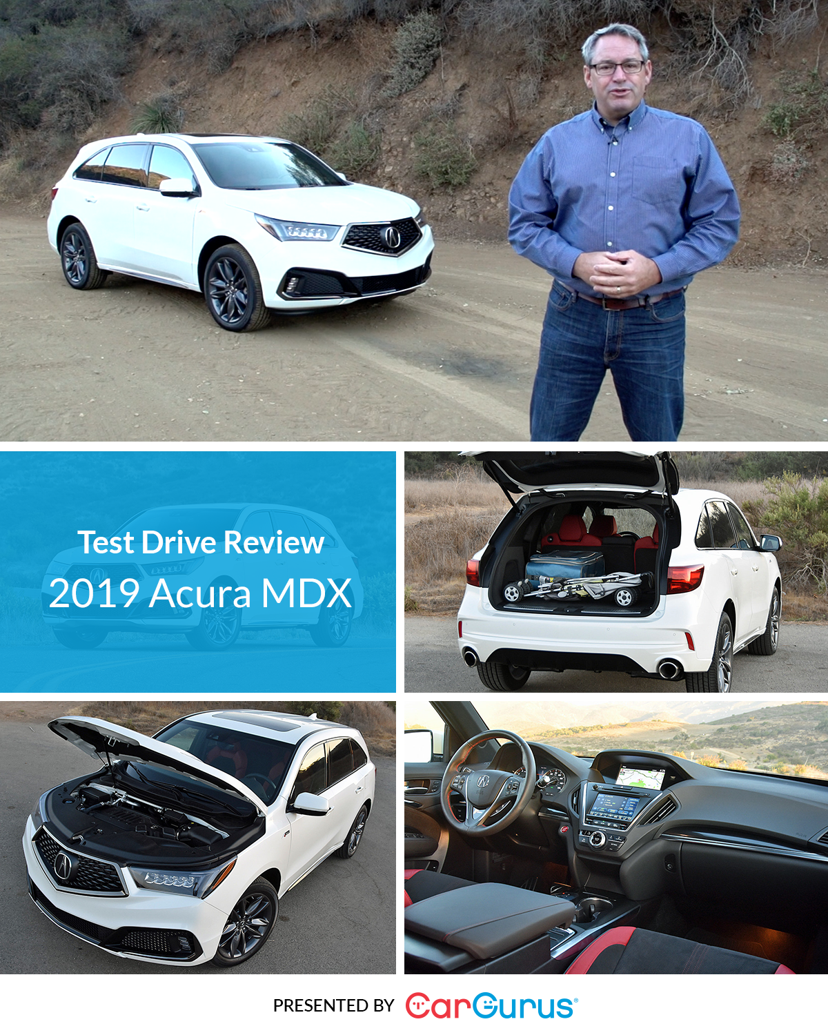 CarGurus Reviewer Chris Wardlaw Takes The 2019 Acura MDX