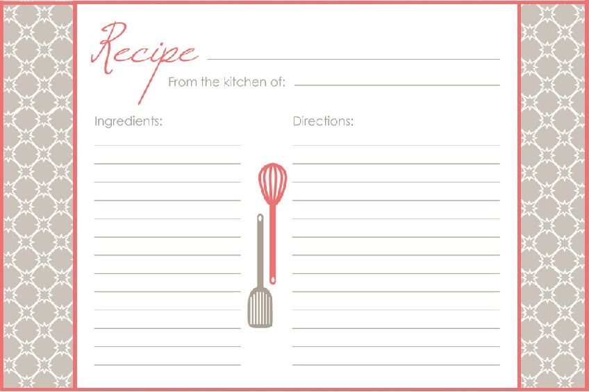 pin by darlene nguyen on recipe cards