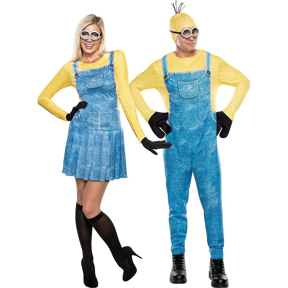 Adult Minions Couples Costumes in 2019 | Couple costumes
