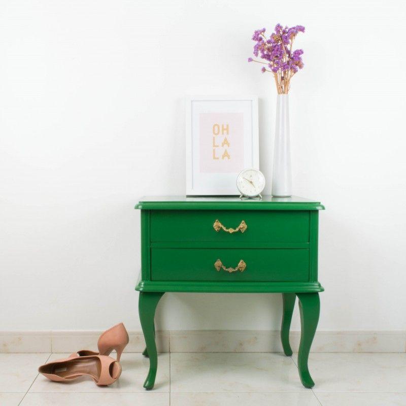 Mesilla de noche Andrea | Antic&Chic | Antic&Chic shop | Pinterest ...