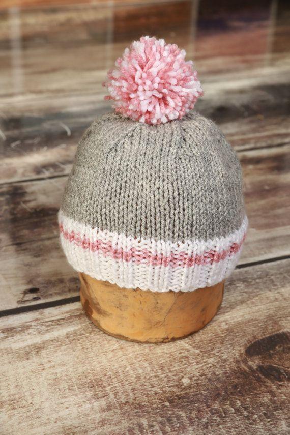 Tuque style bas de laine version femme taille par TuquesEtBoutons ... b325a3857e2