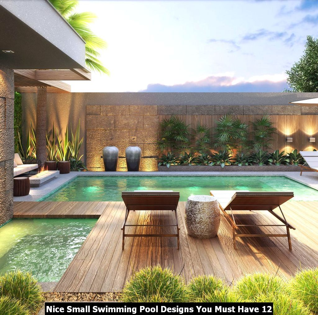 Nice Small Swimming Pool Designs You Must Have Swimming Pools Backyard Backyard Pool Pool Patio