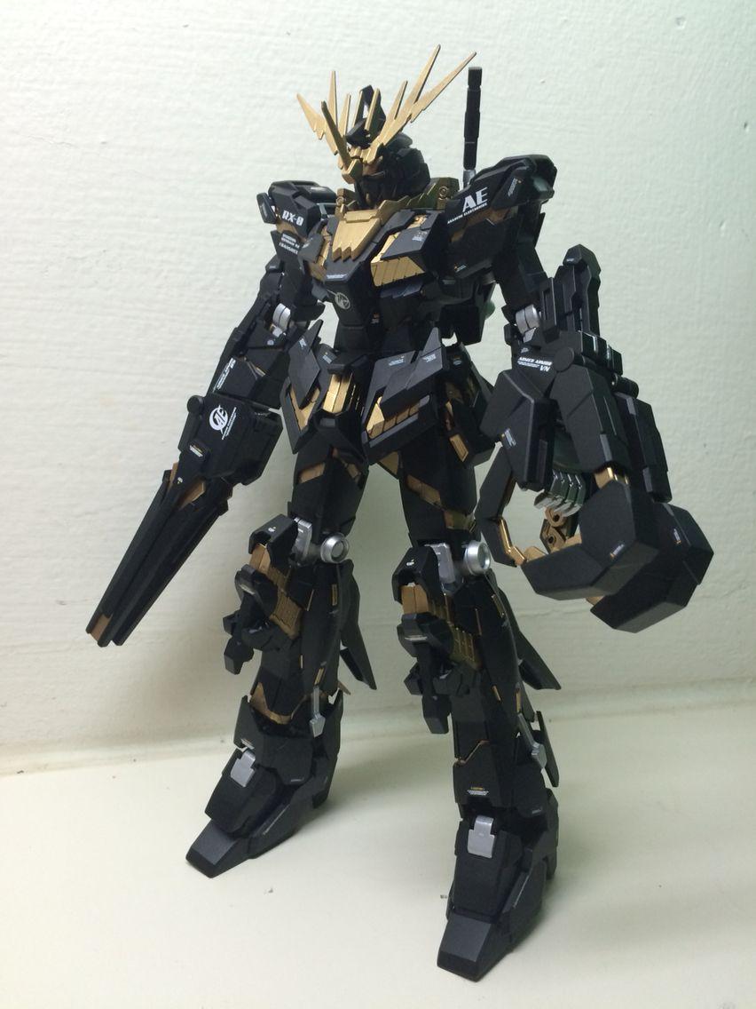Mg Gundam Unicorn 2 Banshee Gundam Pinterest Gundam