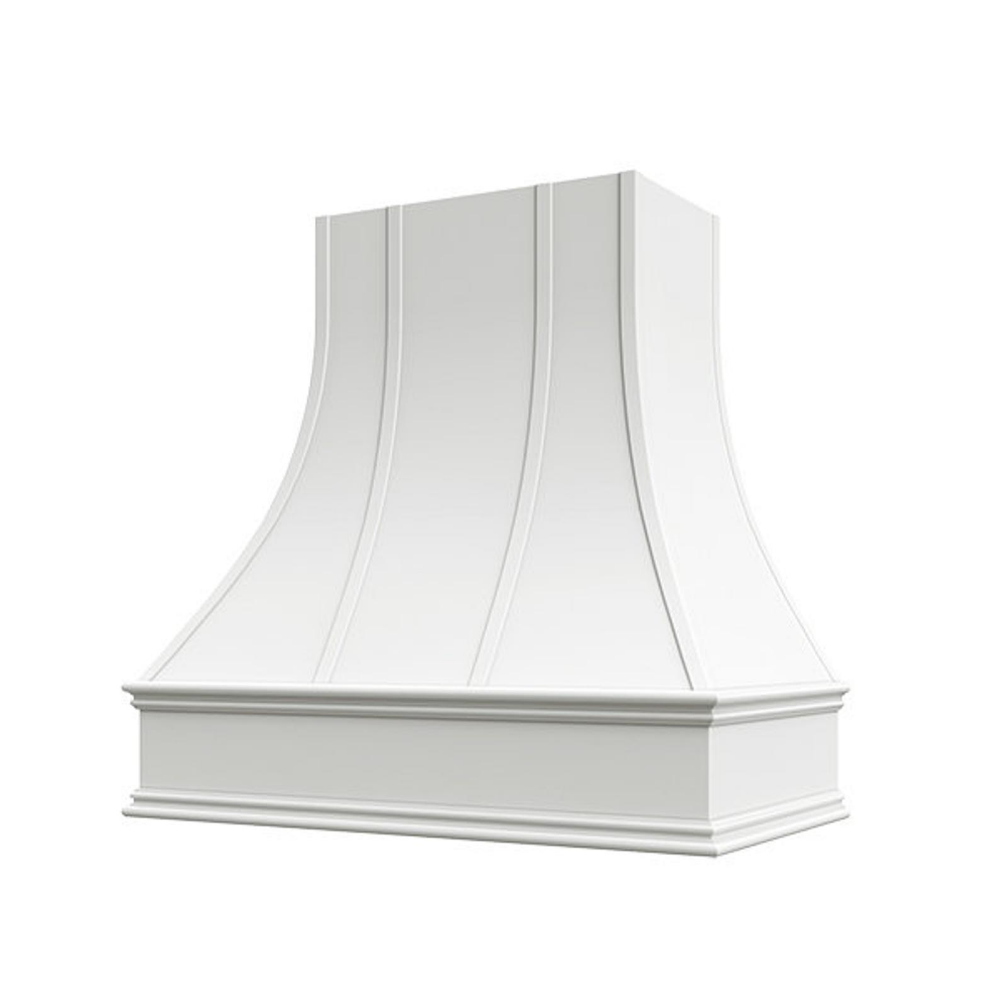 White Epicurean Artisan Style Kitchen Hood Liner Blower Included Kitchen Hoods Kitchen Styling White Kitchen Hood