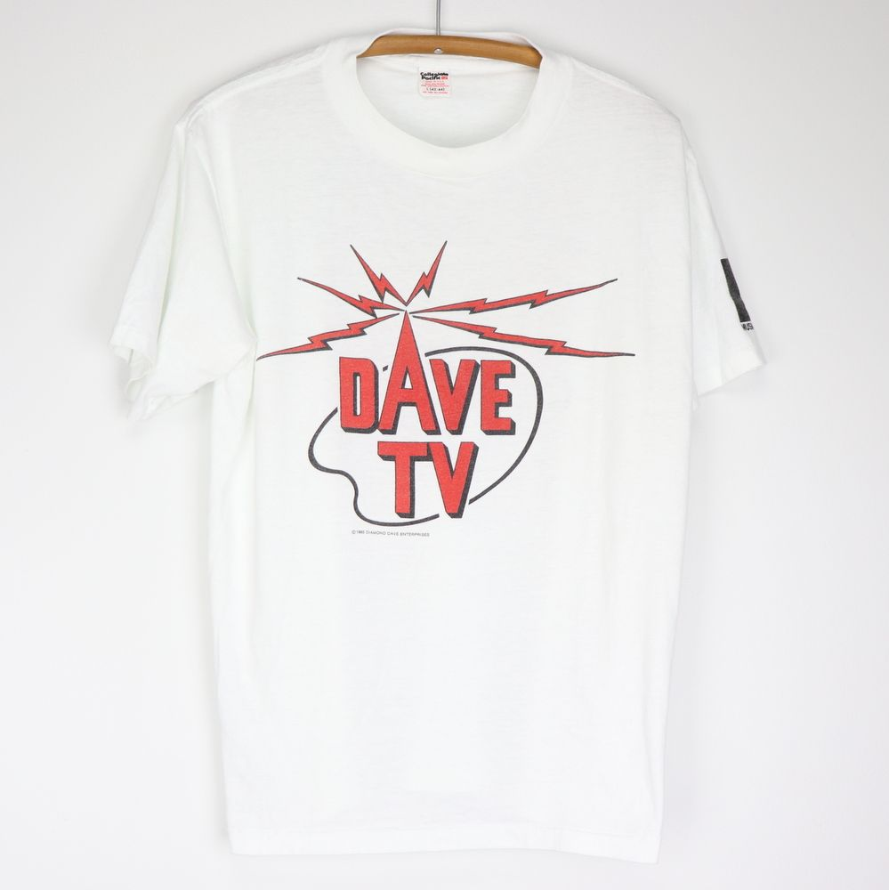 Vintage David Lee Roth Dave Tv All Dave All Night Shirt 1985 David Lee Roth David Lee Night Shirt