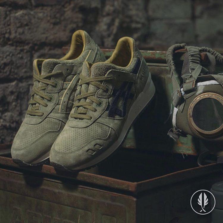 footpatrol x asics gel lyte iii squad 25th anniversary