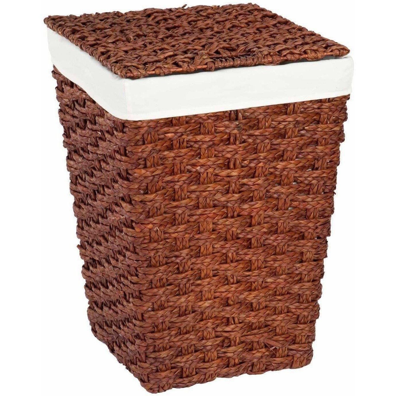 Set Of 3 Natural Brown Wicker Baskets Laundry Hamper Hamper Basket