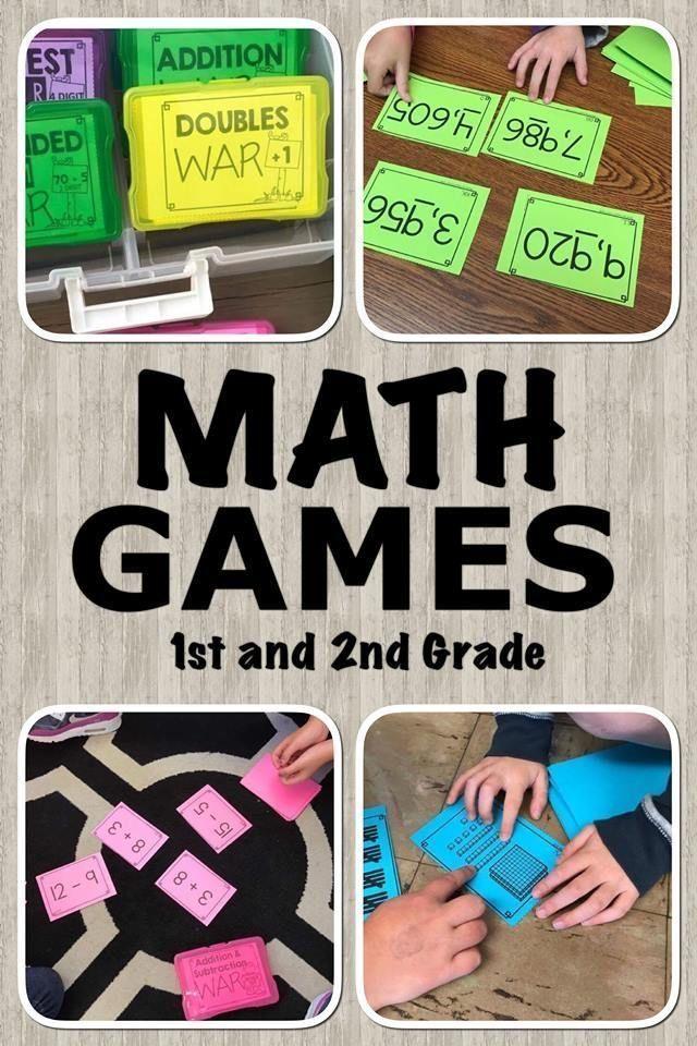 Photo of Math Games 2nd Grade   Partner Math Games