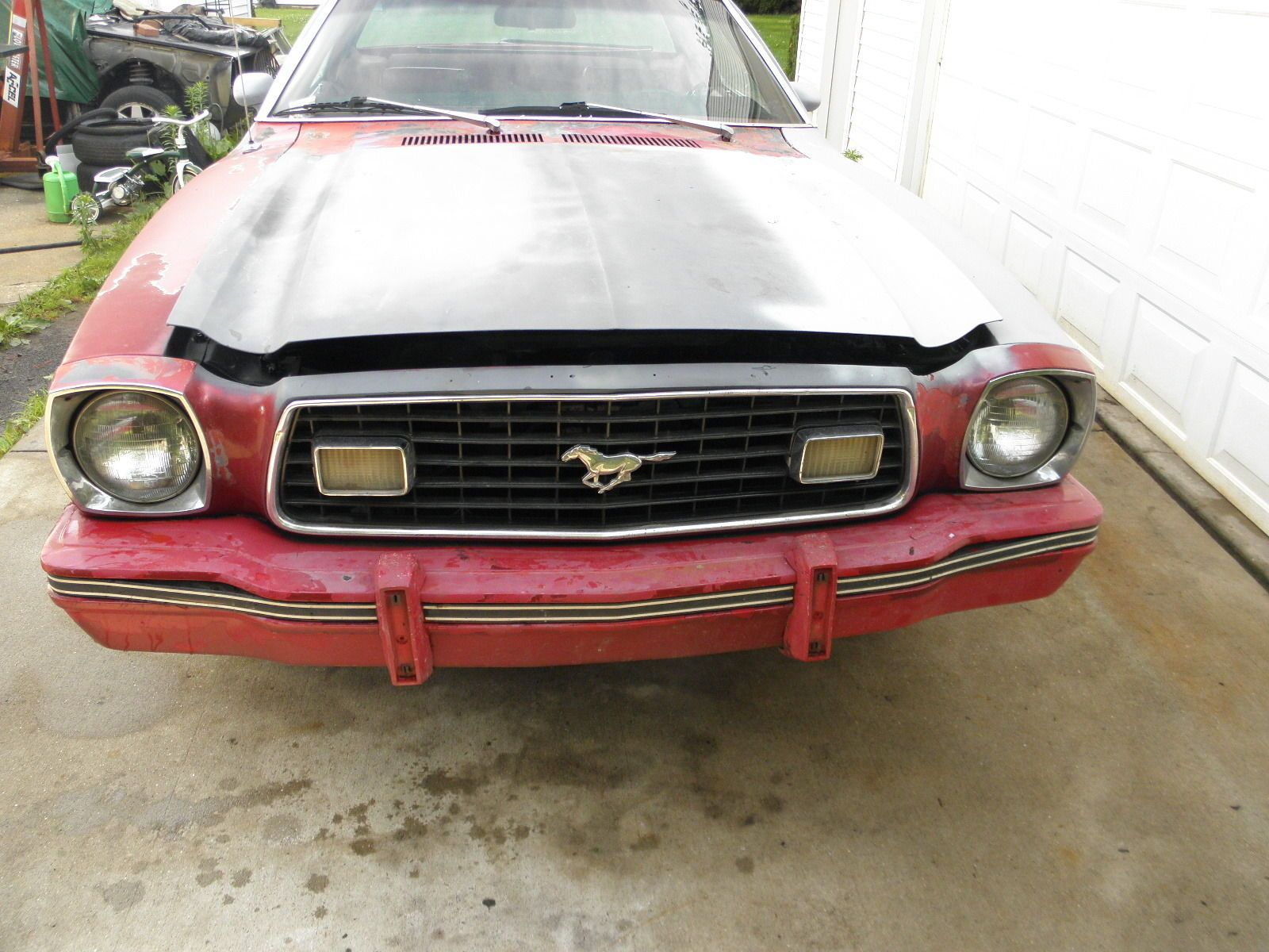 Ebay 1978 ford mustang ii 1978 ford mustang ii coupe rolling chassis fordmustang
