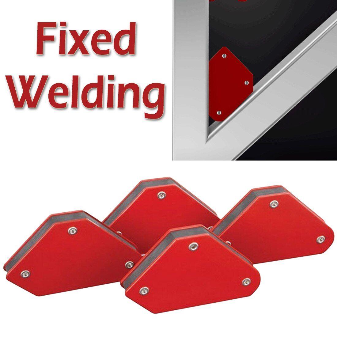 4Pcs High Quality Soldering Locator Welding Magnet Corner Welder Magnetic Holder