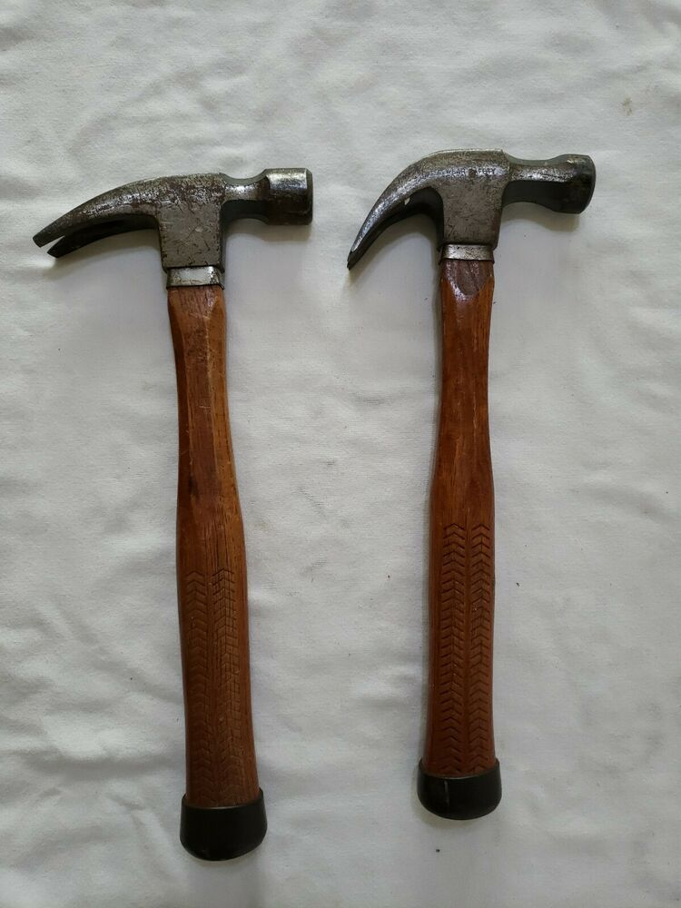 Ebay Sponsored 2 Craftsman Claw Hammers Curved Straight Nice Pair Hammers Claw Hammers Vintage Craftsman