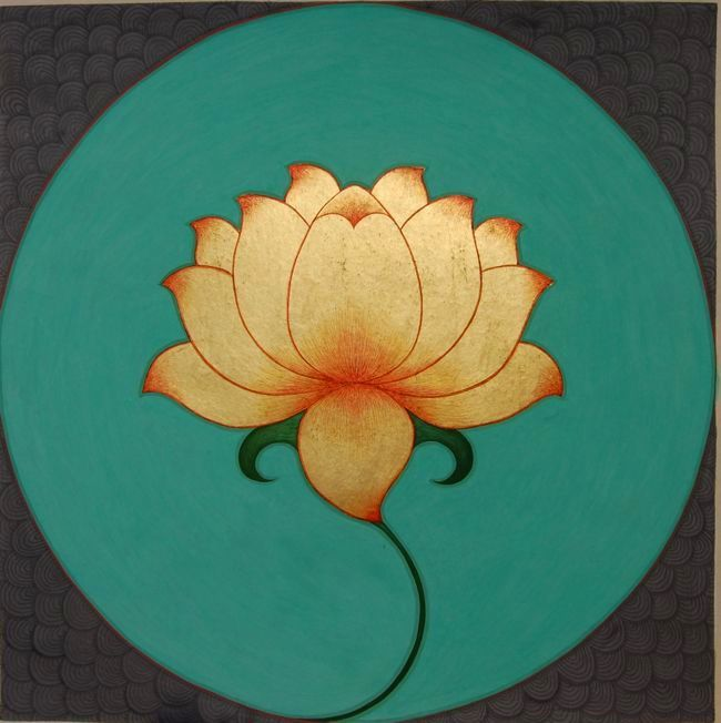 An Indian Summer Olivia Fraser Srishti In 2019 Lotus Painting