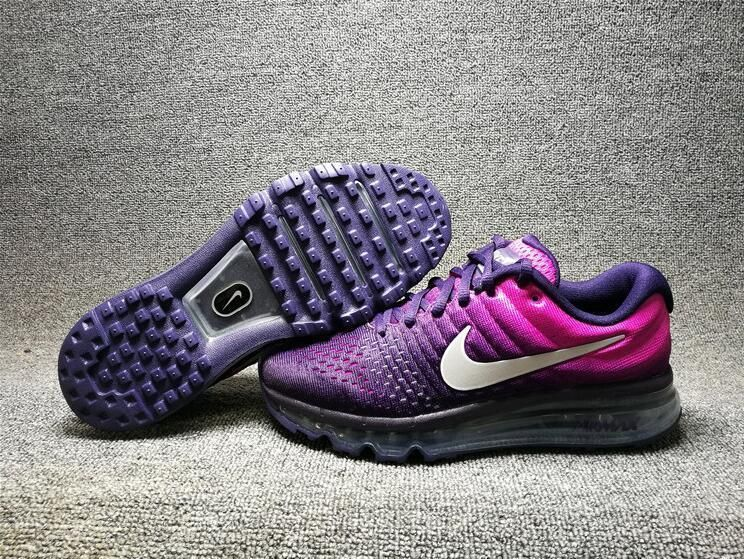 reputable site 848af df559 Nike Air Max 2017 GS Women Purple White Running Shoes 851623-500  Nike   RunningCrossTraining