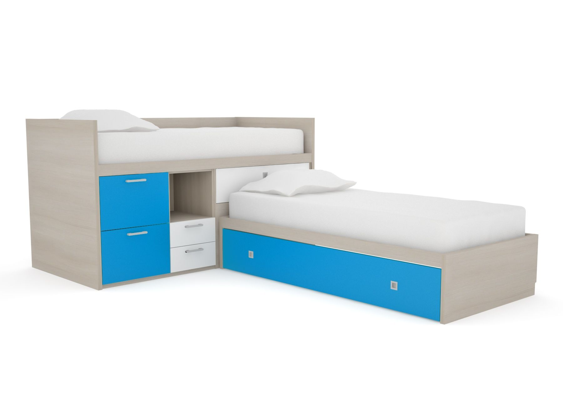 Best L Shaped Bunk Beds Kids Bunk Beds Top Quality Made To 400 x 300